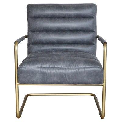 Peyton Armchair Upholstery: Midnight