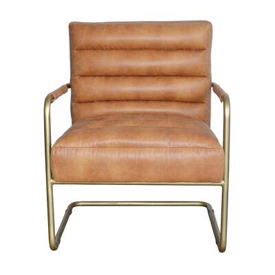 Peyton Arm Chair Upholstery: Cider
