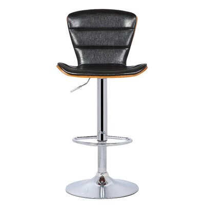 Trey Gaslift Adjustable Height Swivel Bar Stool