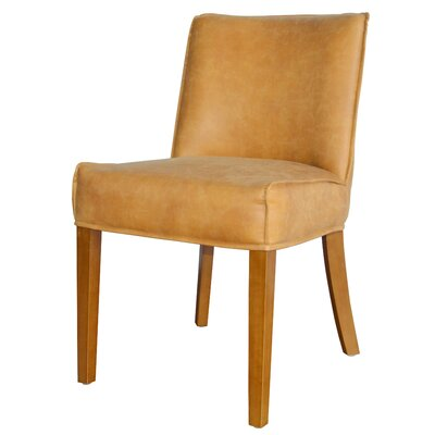 Pierson Bonded Leather Side Chair Upholstery: Cider