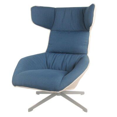 Draven Swivel Lounge Chair Upholstery: Naval/Sandbar