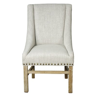 Aaron Sloping Side Chair Finish: Natural