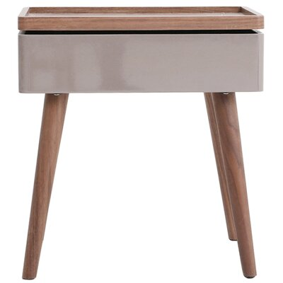 Berkley Swivel Top End Table