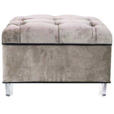 Mineo Storage Ottoman Upholstery: Chamoise