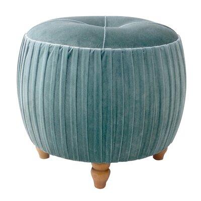 Caress Velvet Ottoman Upholstery: Emerald