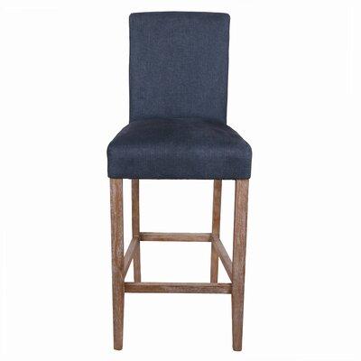 Torkelson 29 Bar Stool Upholstery: Denim Slate