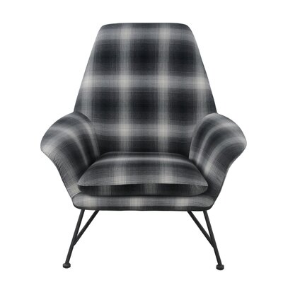 Bryant Plaid Armchair