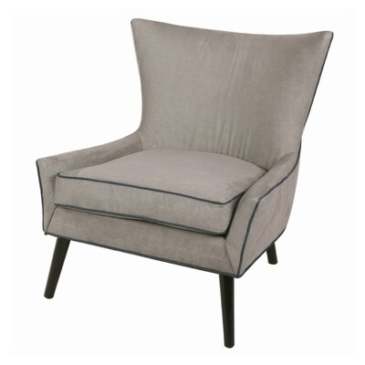 Framboise Denim Lounge Chair Upholstery: Denim Dove