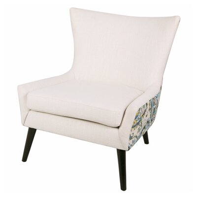 Framboise Paisley Lounge Chair