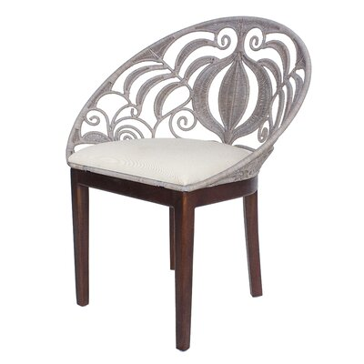 Bretta Rattan Side Chair