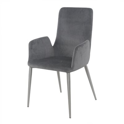 Cherlyn Dining Arm Chair Upholstery: Nightfall