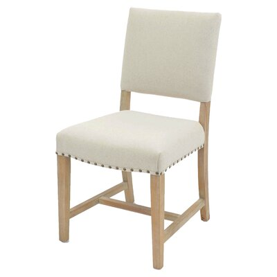 Arthur Side Chair Color: Light Sand