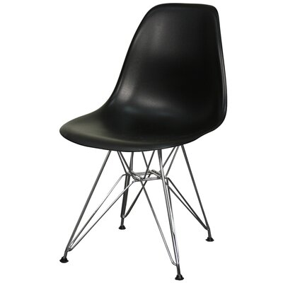 Postell Dining Chair Color: Black