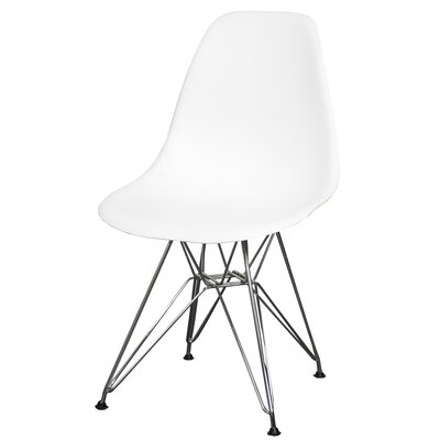 Dieter Dining Chair Color: White