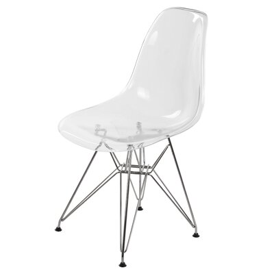 Dieter Dining Chair Color: Clear