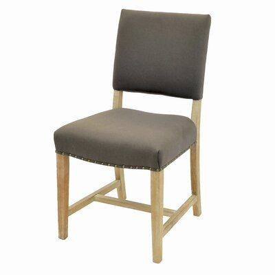 Welling Side Chair Color: Caf� Mocha