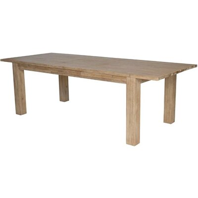 Bedford Extendable Dining Table Finish: Brushed Smoke