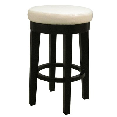 Jeddo 25 Swivel Bar Stool Upholstery: Beige