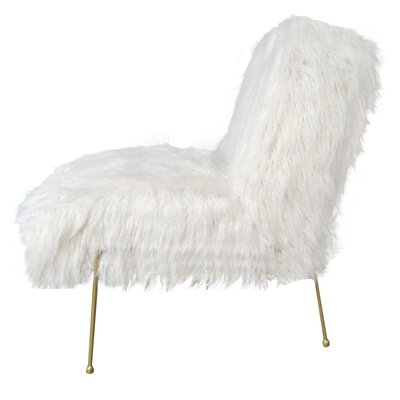 Kourtnee Contemporary Slipper Chair