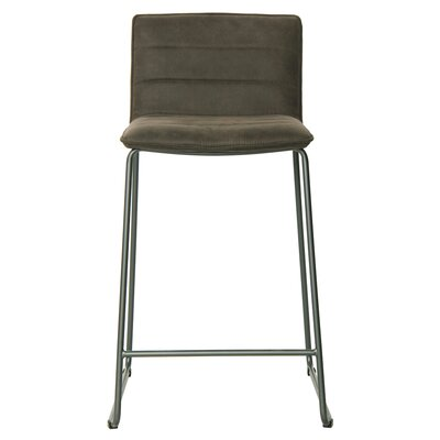 Polins 29 Bar Stool Upholstery: Antique Black