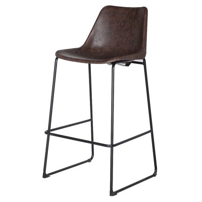 Sein 30 Bar Stool Upholstery: Vintage Coffee Brown