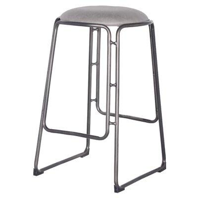 Elna 27.5 Bar Stool Upholstery: Vintage Mist Gray