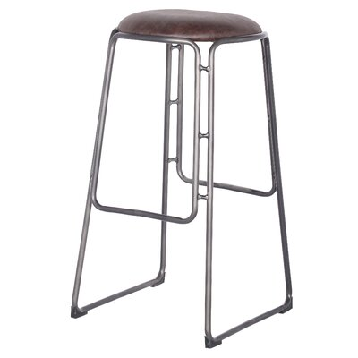 Elna 31 Bar Stool Upholstery: Vintage Coffee Brown