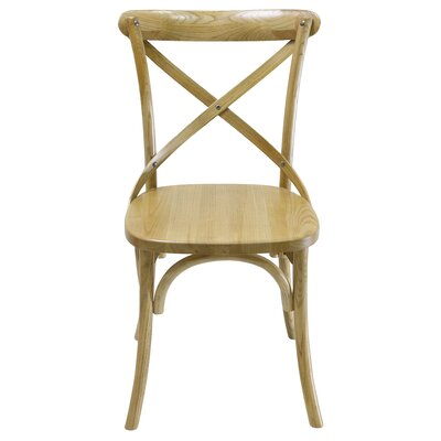Tarun Solid Wood Dining Chair Color: Natural