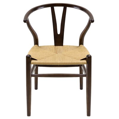 Utterback Solid Wood Dining Chair Color: Dark Walnut