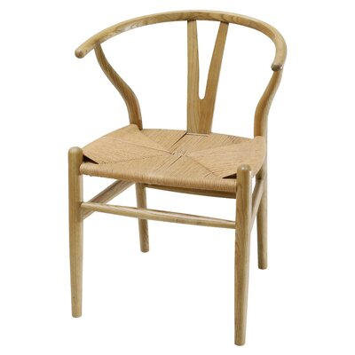Utterback Solid Wood Dining Chair Color: Natural