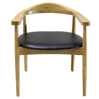 Antony Solid Wood Dining Chair Color: Natural