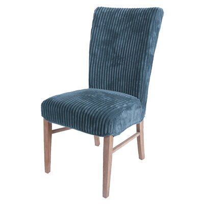 Monaca Upholstered Dining Chair Upholstery Color: Midnight Thames Blue
