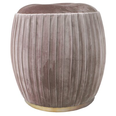 Felicia Pouf Upholstery: Chamoise Gray