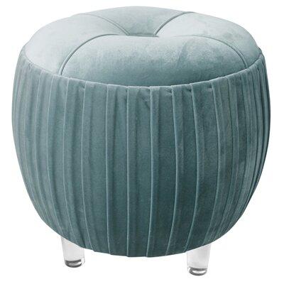 Yasmin Ottoman Upholstery: Emerald Green