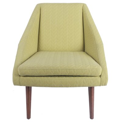 Fairman Slipper Chair Upholstery: Lime Leafage Green