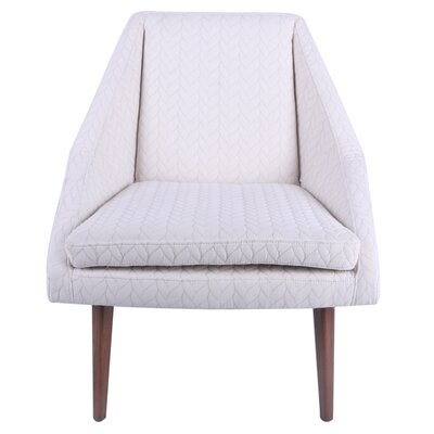Weimer Slipper Chair Upholstery: Icy Leafage Beige