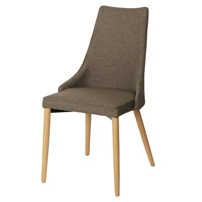 Failand Upholstered Dining Chair Upholstery Color: Rinse Brown