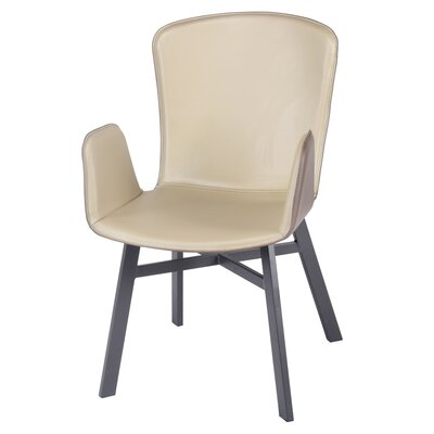 Rishva Upholstered Dining Chair Upholstery Color: Cool Ashes Gray/Asphalt Gray