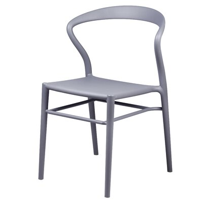 Utopia Dining Chair Color: Gray