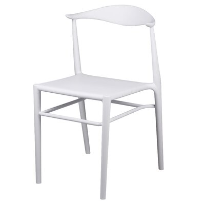 Utsey Dining Chair Color: White