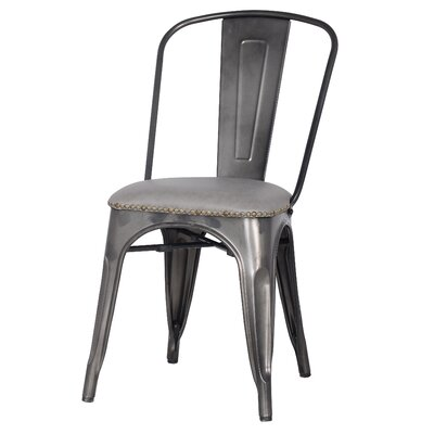 Widefield Dining Chair Upholstery Color: Vintage Mist Gray