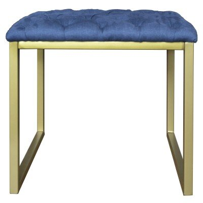 Avril End Table Table Top Color: Blue