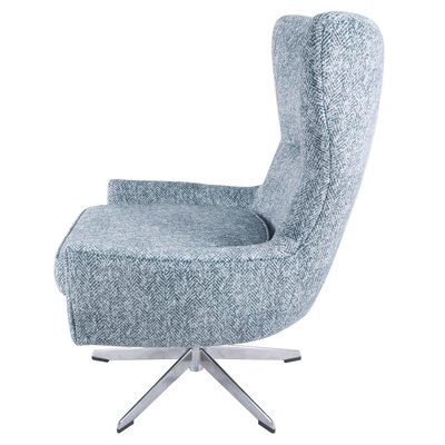 Vandoren Swivel Wingback Chair