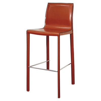Gervin 29.5 Bar Stool Upholstery: Cordovan