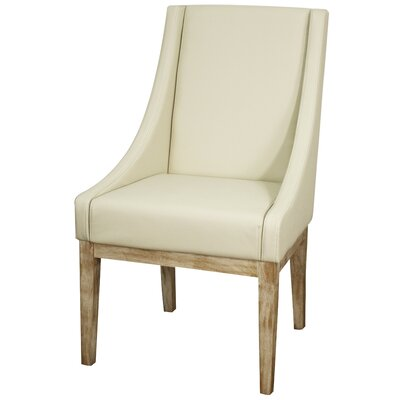 Houston Genuine Leather Upholstered Dining Chair