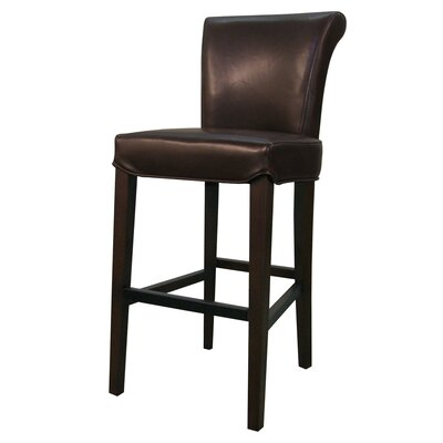 Bentley 26 Bar Stool Upholstery: Mocha