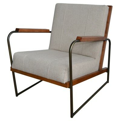 Gillett Armchair Upholstery: Cardiff Brown