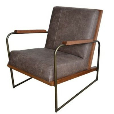 Gillett Armchair Upholstery: Devore Brown