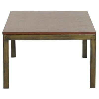 Dimaggio End Table Color: Brushed Brass