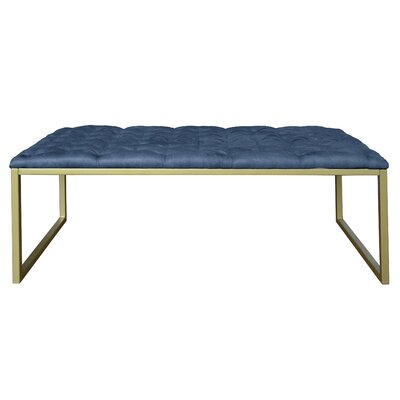 Avril Coffee Table Top Color: Blue